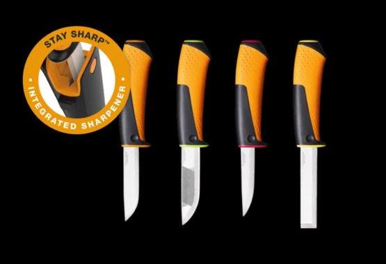 Nová řada univerzálních nožů s integrovaným ostřičem