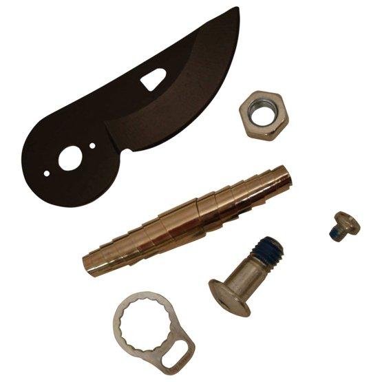 Čepel, šroubek, matice, očko a pružina pro nůžky P90