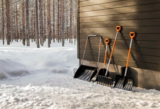 Špičkové nářadí pro úklid sněhu