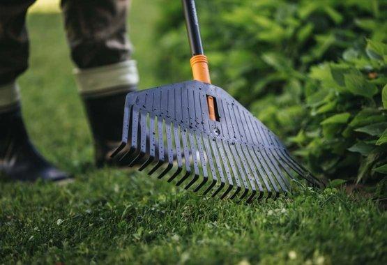 Aby byla zahrada krásně uklizená