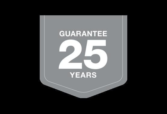 Garantovaná záruční doba 25 let