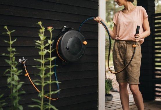 Držák na stěnu pro buben na hadici S