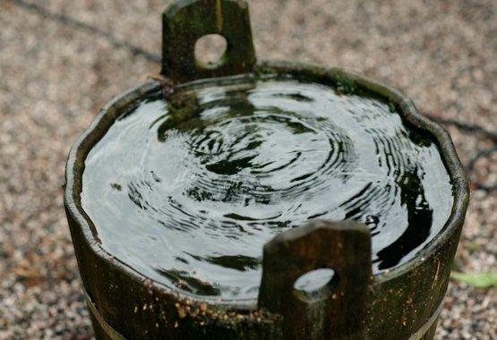 Zadržujte dešťovou vodu