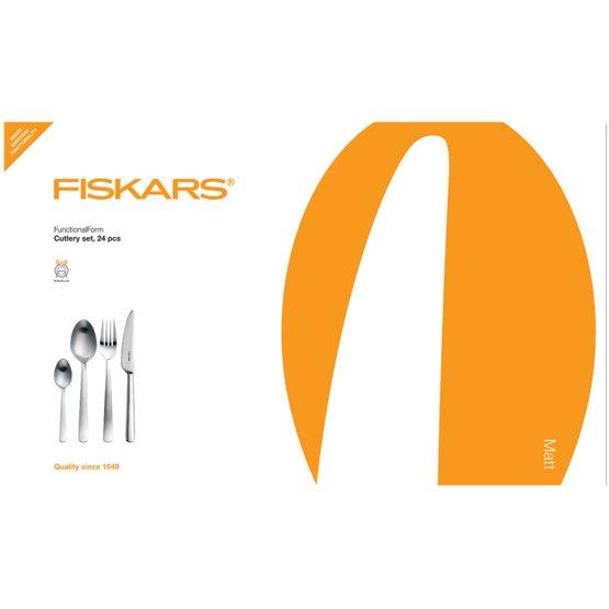 Souprava příborů Functional Form™, 24 ks, matové provedení