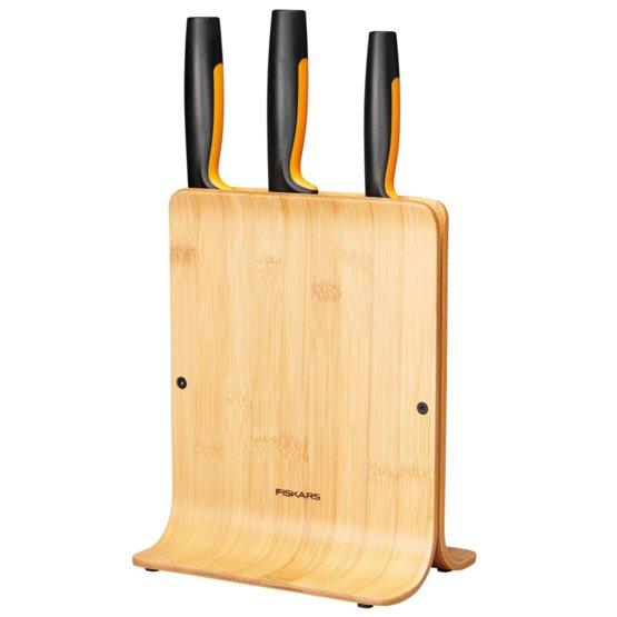 Bambusový blok se třemi noži Functional Form