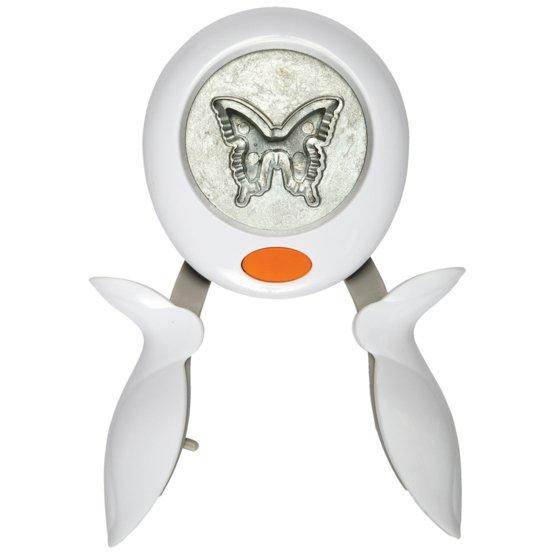 Ozdobná páková děrovačka L - Motýl