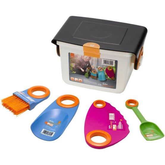 My First Fiskars Box Set s drobným dětským nářadím