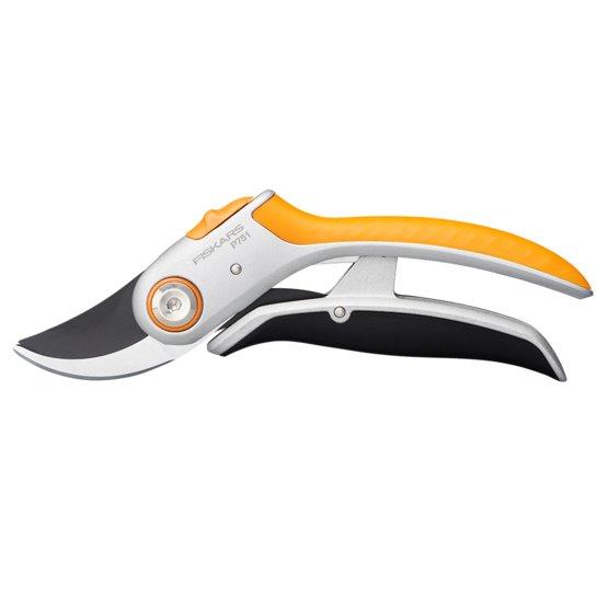 Dvoučepelové zahradní nůžky PowerLever kovové Plus (P751)