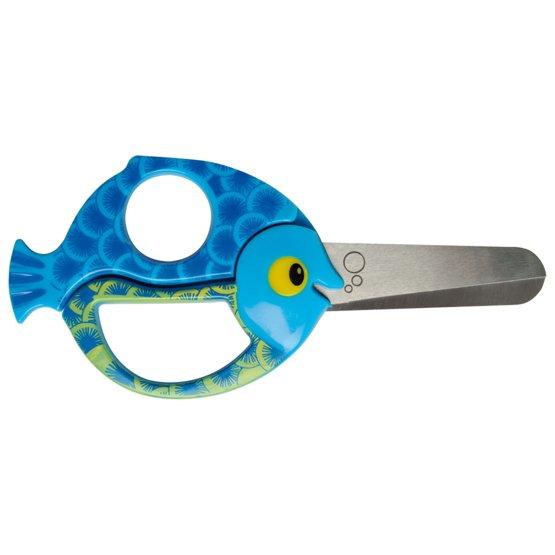 Nůžky pro děti Animals ryba 13 cm
