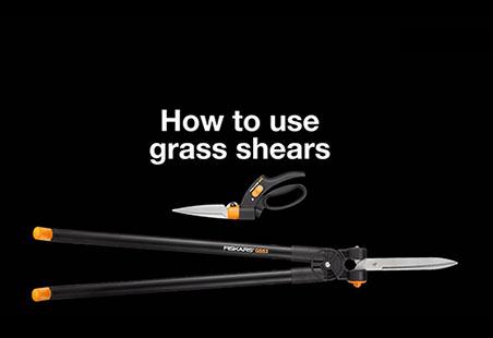 Nůžky na trávu Servo-System™ GS42